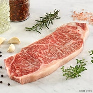 Japanese Wagyu Striploin 3/4 Inch Thick 1 Slice Pack